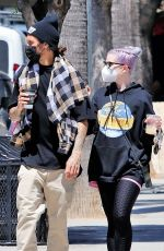 Kelly Osbourne Exiting Joan