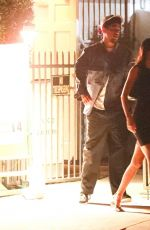 Kendall Jenner Sneaking out of a dinner date in Santa Monica