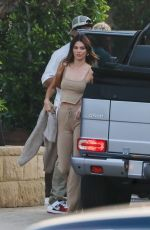 Kendall Jenner Spotted arriving at SoHo house with friends in Malibu