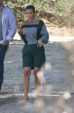 Kourtney Kardashian Reunite with Scott Disick as they joined Kanye West to check out a property in Malibu