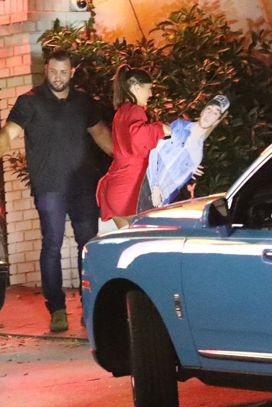Kylie Jenner Heads into Chateau Marmont to party in West Hollywood