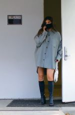 Kylie Jenner Leaving a meeting in Calabasas