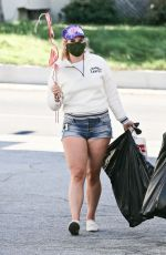 Lana Del Rey Goes shopping for decorations in LA