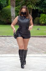Lauren Goodger Spotted out for dinner in London