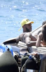 Leigh Anne Pinnock and her fiance Andre Gray enjoying a romantic holiday in Mykonos