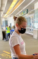 Lili Reinhart Arriving to Vancouver to begin filming Riverdale