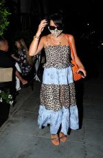 Lily Allen Out with friends in Mayfair