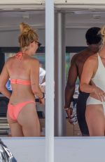 Lindsey Vonn Showed off her sexy beach body in a while one-piece while vacationing in Cabo San Lucas, Mexico