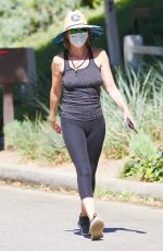 Lisa Rinna Out for a sunny walk through Studio City