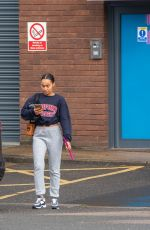 Little Mix Emerging from the studios in London