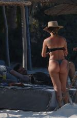Liza Lash On vacation with two friends in Tulum Mexico