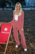 Louisa Johnson Attending the Hotels.com Dream Screen Drive-In Cinema in London
