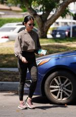 Lucy Hale At a park in Studio City