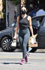 Lucy Hale At Alfreds Cafe in Studio City