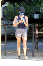 Lucy Hale Hiking in Studio City