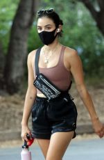 Lucy Hale Seen going for a hike at Fryman Canyon in Studio City