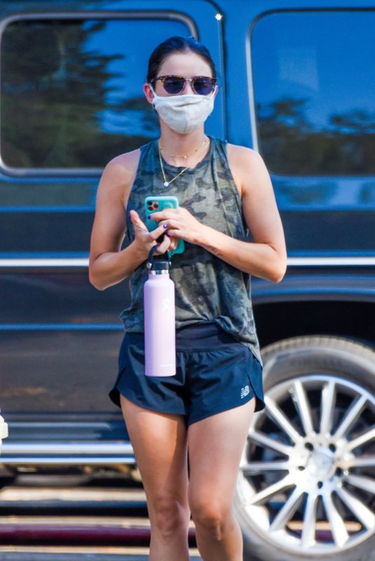 Lucy Hale Spotted on a hike in Los Angeles