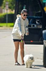 Lucy Hale Visits a friend in Studio City