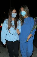 Madison Beer Enjoyed a nice later night dinner with friends in West Hollywood
