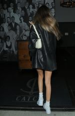 Madison Beer Flaunts her toned legs as she was spotted arriving to dinner at Catch in West Hollywood