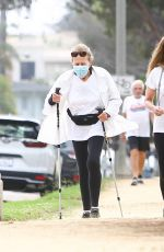 Maria Shriver Out for a walk in Santa Monica
