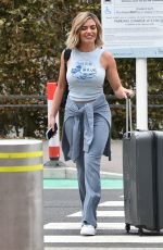 Megan Barton Hanson Arriving at Stansted airport as she heads to Turkey
