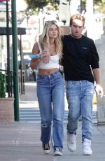 Megan Blake Irwin steps out with male friend in Los Angeles