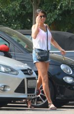 Mel Sykes Seen Out For A Walk In West London