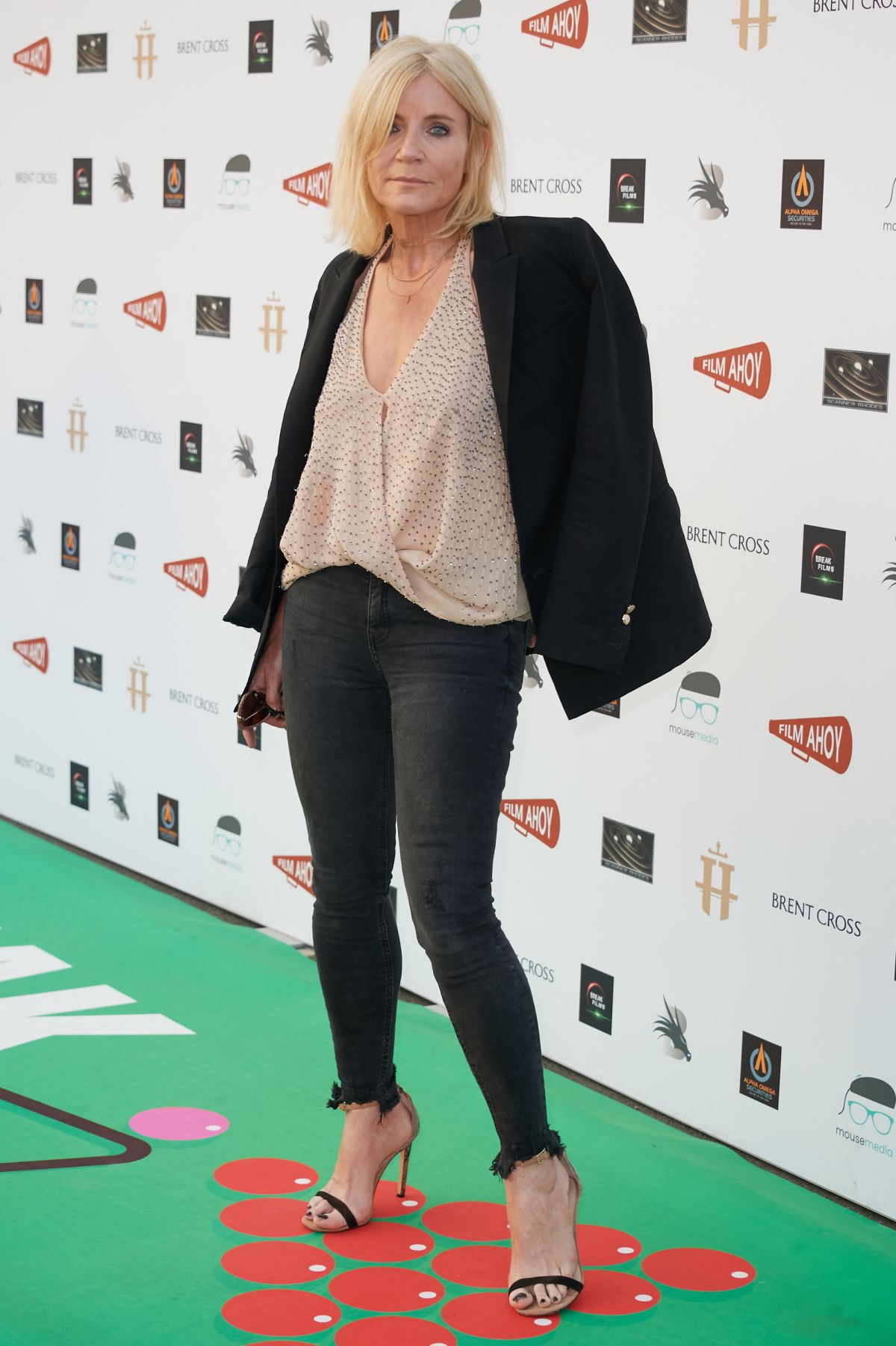 Michelle Collins At BREAK Premiere at The Drive In Club ...