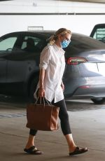 Michelle Pfeiffer Going to a meeting in Santa Monica
