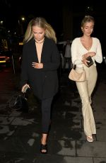Molly Mae Hague Pictured at The Ivy Restaurant in Manchester