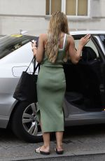 Molly Smith Arriving at a photo shoot at the Gotham Hotel in Manchester