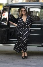 Myleene Klass At the Global Radio Studios in London