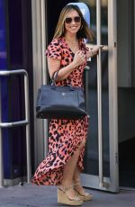 Myleene Klass At the Smooth Radio station in London