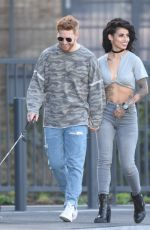 Neil Jones Steps Out With His New Girlfriend Luisa Eusse in London