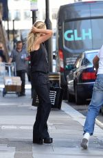 Nicola Peltz Out and about in London