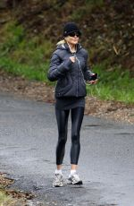 Nicole Kidman Out for a morning run in Byron Bay