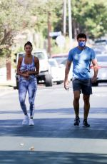 Nicole Scherzinger Going to a private gym in Los Angeles