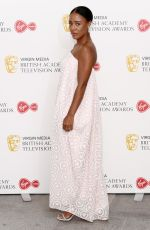 Nina Toussaint-White At Virgin Media British Academy Television Awards, Arrivals, London