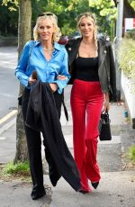 Olivia Attwood and her mother Jenny at Albert