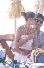 Olivia Palermo And her husband Johannes Huebl enjoy some downtime while vacationing in Capri