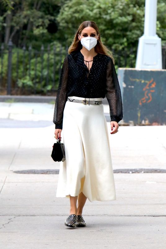 Olivia Palermo O&A in NYC