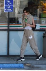 Rainey Qualley At 7-Eleven in LA