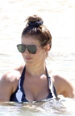 Rebekah Vardy On a beach in Ibiza