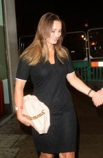 Sam Faiers Arriving at Tape Night Club with a friend in London