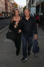 Samantha Janus Out in Mayfair in London