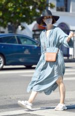 Sarah Paulson As she is pictured stepping out for a day of furniture shopping in Los Angeles