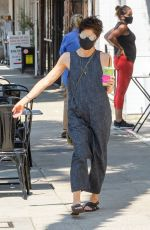 Selma Blair Gets a juice out in LA