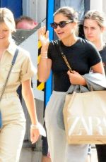 Shanina Shaik Spotted out in the capital shopping with a friend