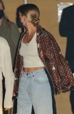 Sofia Richie Heads out after dinner with friends at Nobu in Malibu